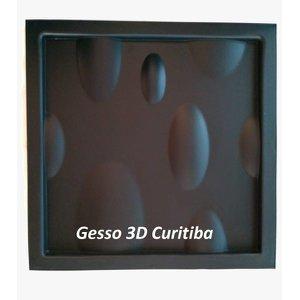 Forma De Gesso 3D Em Abs 2,0Mm Bubbles