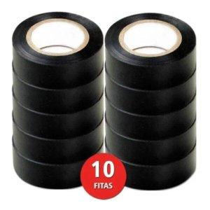 Fita Isolante Antichamas 20 MT ClasseA Forceline Kit 10 Rls