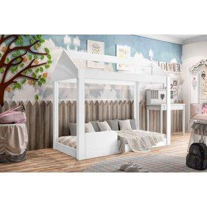 Cama Infantil Montessoriana Crystal Branco - Branco