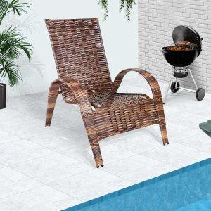 Cadeira Area Externa Confortavel Em Junco Rei