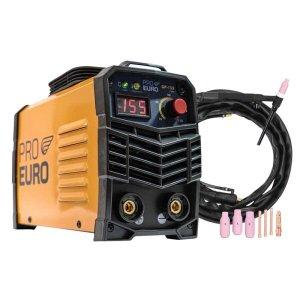 Máquina de solda inversora 155amp 127v - pró euro + tocha seca tig
