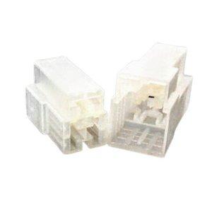 Kit Conector Capa Isolante 3 Vias Macho/Fêmea 25Pçs De Cada