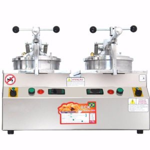 Fritadeira de Pressão BCK 8000 2 Cestos 5 Litros Cada 220V NovaInd
