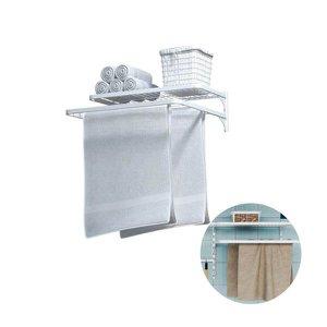 Kit Organizador com Varal Multiuso Mo0081 Branco