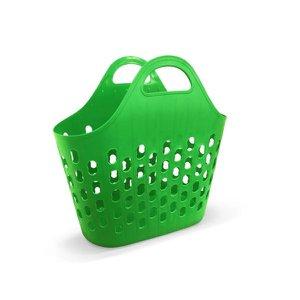 Sacola Bolsa Mercado Feira Brinquedo Multiuso Plástico Verde