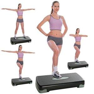 Step aerobico de exercicios regulavel academia plataforma em casa funcional com altura regulavel