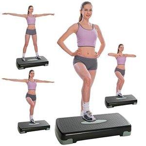 Step aerobico multifuncional plataforma de exercicios com altura regulavel academia em casa treino f