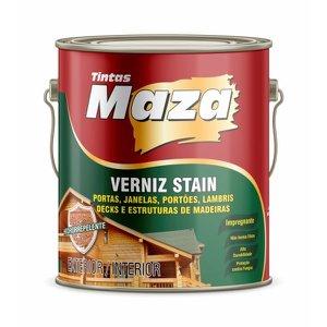 Verniz Stain Uv Madeira Transparente Maza 900 Ml