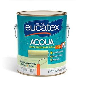Tinta Epóxi Base Água 3,6l Eucatex Piso Azulejo Branco