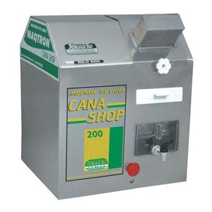Engenho Moenda de Cana Shop 200 Rolo Inox Maqtron 220v