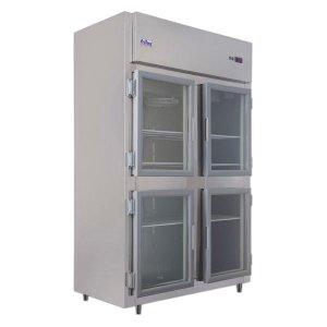 Mini Câmara Comercial 4 Portas 900Litros Porta Vidro Frilux