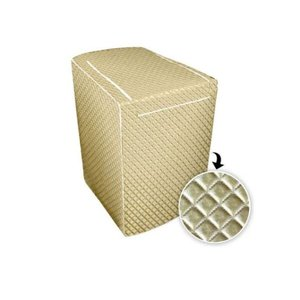 Capa Para Maquina Lavar Glamour Electrolux10Kg A 11,5 Kg- DOURADA