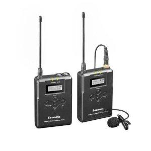 Sistema De Microfone De Lapela Sem Fio Uhf Saramonic Uwmic15