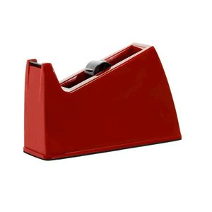 Suporte Porta Durex Fita Adesiva Grande - Vermelho