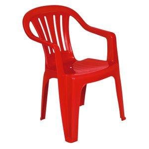 Poltrona Plástica Mor Vermelha