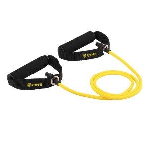 Extensor Elástico de Resistência X-Forte com Pegada Roppe - Amarelo