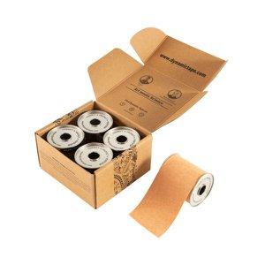 Caixa Dynamic Tape Tattoo Bege 7,5cm X 5m - 4 rolos