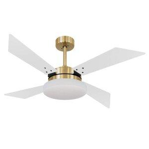Ventilador de Teto 4 Pás Volare Dourado VR50 Tech