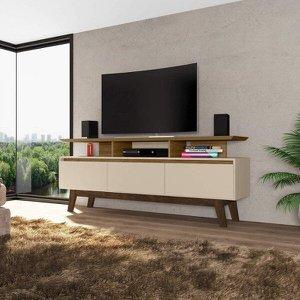 Rack para TVs até 65 Polegadas 3 Portas Rubi Móveis Bechara