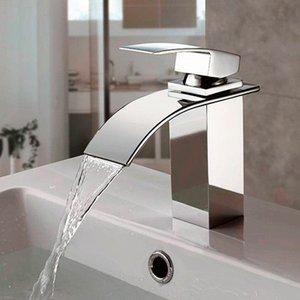 Misturador Monocomando Torneira Cascata Banheiro Lavabo Kronos - Máxima Metais