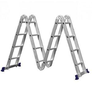 Escada Multifuncional 4x4 16 Degraus Com 2 Plataformas Mor