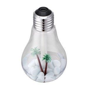 Luminária Lâmpada Difusor Umidificador ambiente Ar Luz LED USB