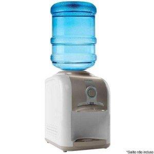 Bebedouro de Água de Mesa Esmaltec Gelagua EGM30 com Compressor 220V Branco/Cinza