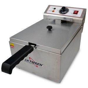 Fritadeira Elétrica FE-10-N 220V 1 Cuba 5,5L Inox- Skymsen
