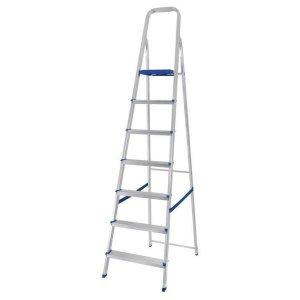 Escada de Alumínio Mor, 7 Degraus – 5105