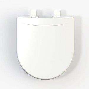 Assento Sanitário Polipropileno Riviera/Smart/Nexo Tupan - Branco