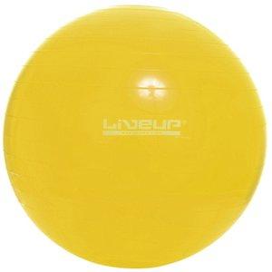 Bola Suíça para Pilates 75 cm LIVEUP LS3221 75 Amarelo
