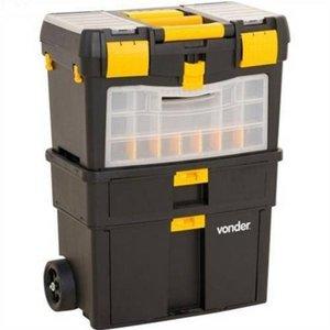 Caixa de Ferramentas com Rodas Carrinho Plastica CRV 0100
