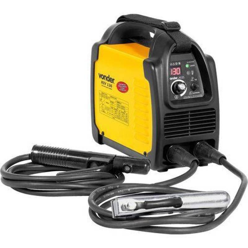 Inversor Para Solda Elétrica Display Digital Bivolt Automatico Vonder