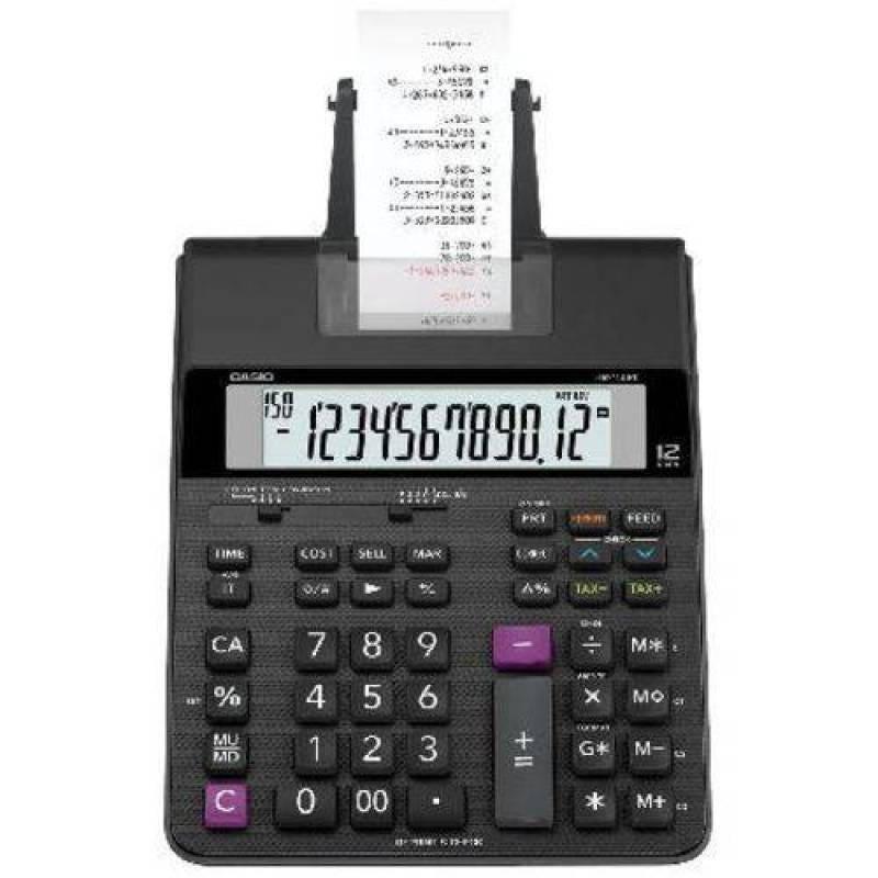 Calculadora com Bobina 2 Cores de Impressão 2.0 Linha HR-150RC Preta