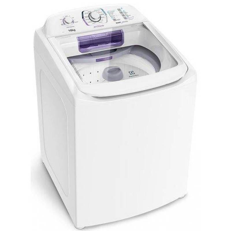 Lavadora De Roupas Automática 16kg Electrolux Turbo Lac16 Branco