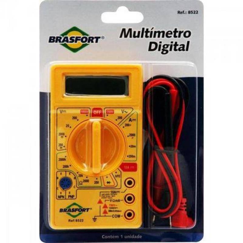 Multímetro Digital DT830B Brasfort - 1