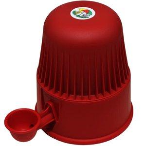 Bebedouro inteligente 2,0 litros Vermelho Plástico