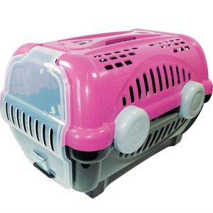 Caixa de Transporte Luxo Furacão Pet Rosa