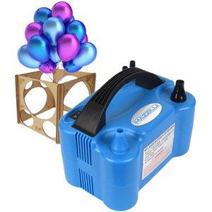 Inflador Compressor Balão Bexiga 2 Bicos+ Medidor De Bexiga - 110v
