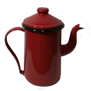 Bule esmaltado Tradicional 1,5 litros - Vermelho