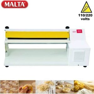 Cilindro Elétrico Para Massa 40cm lasanhas pães pastéis biscuit - Branco 1004 - Bivolt - Malta