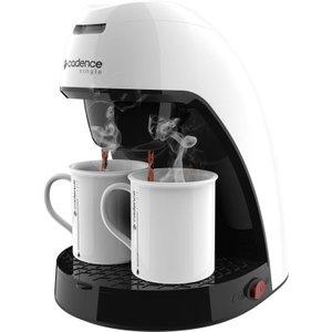 Cafeteira Single Branca CAF210 com 2 xícaras Cadence Colors - Modelo novo design