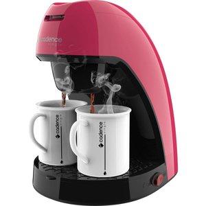 Cafeteira Single Rosa Doce CAF217 com 2 xícaras Cadence Colors - Modelo novo design