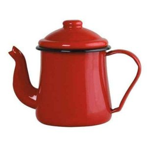 Bule Esmaltado Vermelho Ewel nº 12 - 1000 ml - 151-04