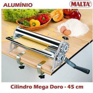 Cilindro Manual de Massa Mega Doro 45cm Laterais Engrenagens Alumínio 936 - MALTA