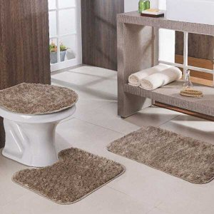 Jogo de Banheiro Classic 3 Peças Oasis