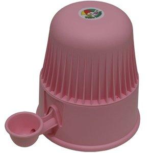 Bebedouro automático 2,0 litros cães e gatos Rosa Plástico