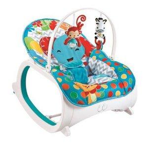 Cadeira de Descanso Musical com Móbiles e Balanço Coloy Baby -Azul