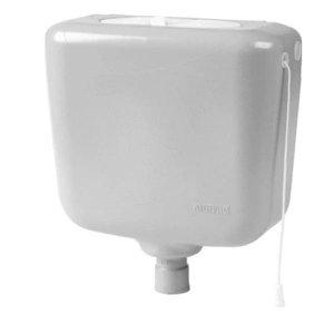 Caixa descarga controlada 6,8 a 9 litros sem engate C17S branca Astra