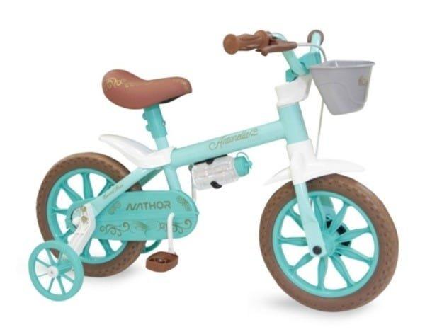 Bicicleta Nathor Antonella Aro 12 Rígida 1 Marcha - Amarelo